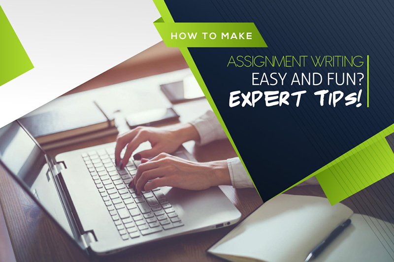How to make assignment writing easy and fun? Expert Tips!